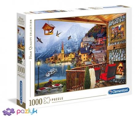 1000 ел. High Quality Collection - Девід Маклін. Гальштат, Австрія / Clementoni