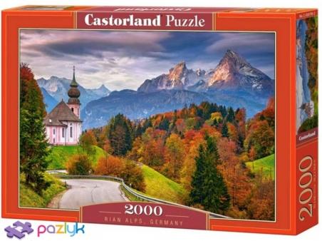 2000 эл. - Осень в Баварских Альпах / Castorland