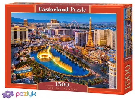 1500 ел. - Казковий Лас-Вегас / Castorland