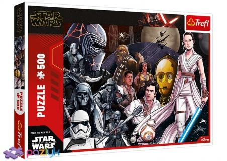 500 ел. - Зоряні війни. Епізод ІХ. Хай живе Опір! / Lucasfilm Star Wars Episode IX / Trefl