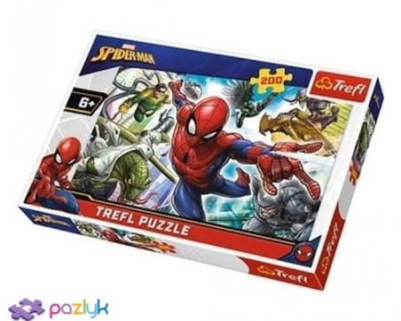 200 эл. - Спайдермен. Рожденный быть супергероем / Disney Marvel Spiderman / Trefl