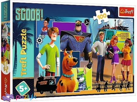 100 ел. - Скубі Ду! Де ти? / Warner Scooby Doo - Scoob Movie / Trefl