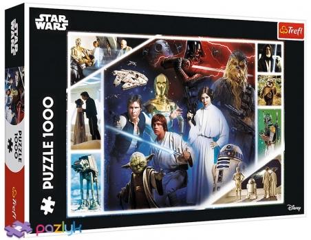 1000 эл. - Звездные войны. В далекой-далекой галактике / Lucasfilm Star Wars / Trefl