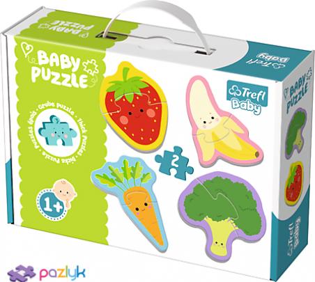 Baby CLASSIC - Овочі та фрукти /Trefl