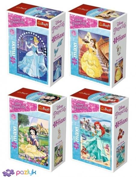 20 эл. МиниМакси - В сказочном мире Принцесс / Disney Princess / Trefl