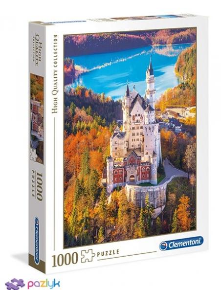 1000 эл. High Quality Collection - Замок Нойшванштайн, Бавария / Clementoni
