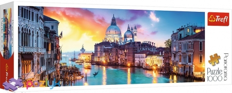 1000 эл. Panorama - Гранд-канал, Венеция / Trefl