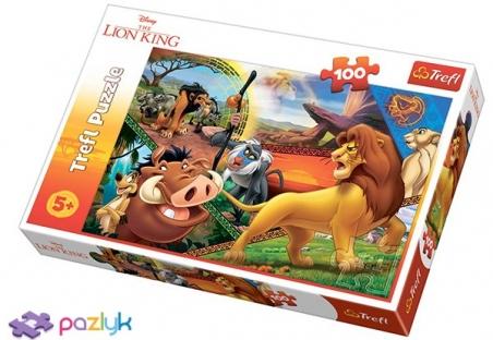 100 ел. - Король Лев. Пригоди Сімби / Disney The Lion King / Trefl