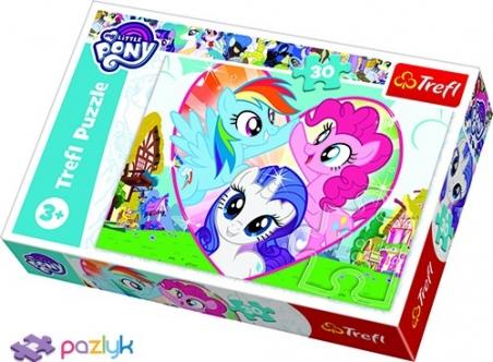 30 эл. - Мои Маленькие Пони. Вместе лучше / Hasbro, My Little Pony / Trefl