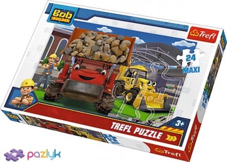 24 ел. Максі - Боб будівельник. Ми це зробимо! / Bob the Builder / Trefl