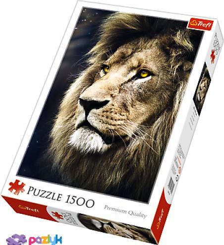 1500 эл. - Портрет льва / Trefl