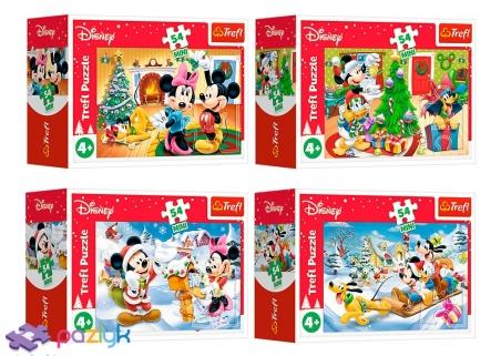 54 ел. Міні - Різдво з Мишкою Міккі / Disney Standard Characters / Trefl