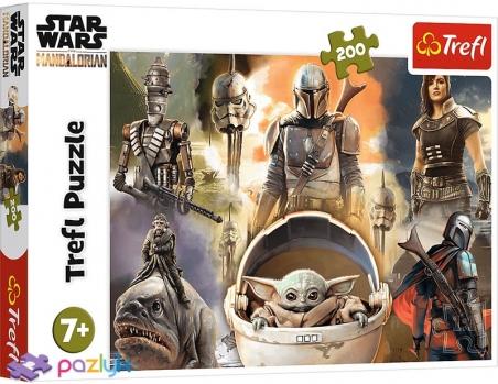 200 ел. - Зоряні війни: Мандалорець. Готові до битви / Lucasfilm Star Wars / Trefl