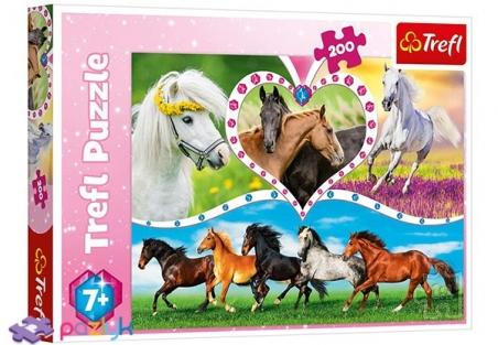 200 эл. - Красивые кони / Trefl