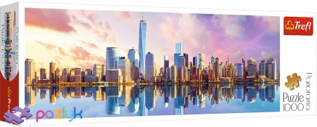 1000 эл. Panorama - Вид на Манхэттен, Нью-Йорк / Trefl