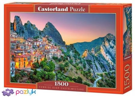 1500 ел. - Світанок над Кастельмеццано, Італія / Castorland