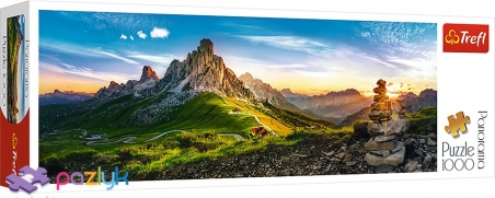 1000 ел. Panorama - Доломітові Альпи, Італія / Trefl