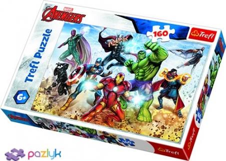 160 ел. - Месники. Готові врятувати світ / Disney Marvel The Avengers / Trefl