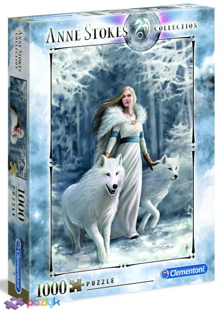1000 эл. Anne Stokes collection - Зимние защитники / Clementoni