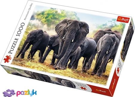 1000 ел. - Африканські слони / Trefl