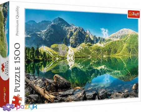 1500 ел. - Озеро Морське Око, Татри, Польща / Adobe Stock / Trefl