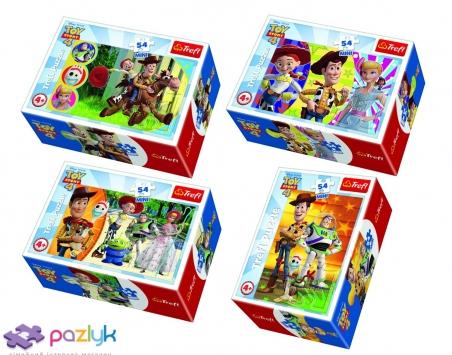 54 ел. Міні - Веселий світ іграшок / Disney Toy Story-4 / Trefl