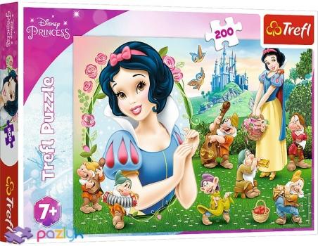 200 эл. - Прекрасная Белоснежка / Disney Princess / Trefl