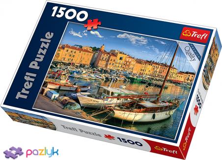 1500 эл. - Старый порт в Сен-Тропе, Франция / Trefl