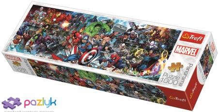 1000 эл. Panorama - Присоединяйтесь к Вселенной Marvel / Disney Marvel / Trefl