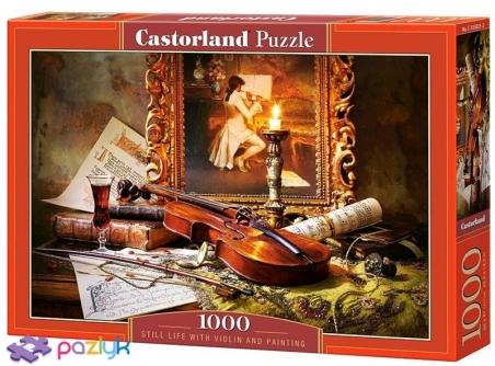 1000 эл. - Натюрморт со скрипкой / Castorland