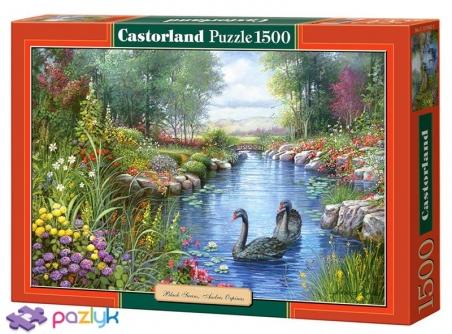 1500 эл. - Черные лебеди / Castorland