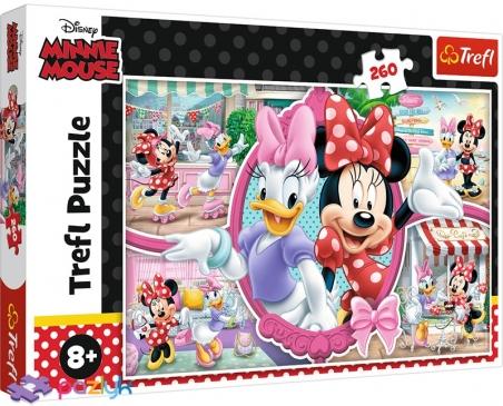 260 ел. - Щасливий день мишки Мінні / Disney Minnie / Trefl