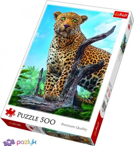 500 эл. - Дикий леопард / 500px / Trefl