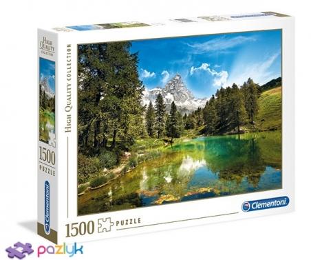 1500 эл. High Quality Collection - Альпийское озеро / Clementoni