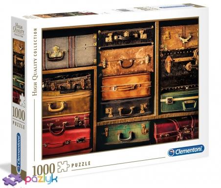 1000 эл. High Quality Collection - Чемоданы для путешествий. Коллаж / Clementoni