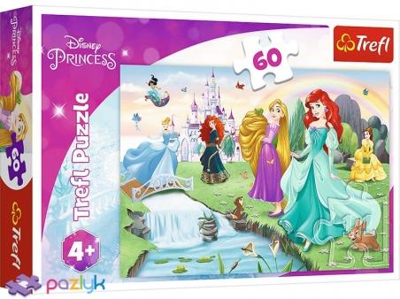 60 эл. - Встречайте Принцесс / Disney Princess / Trefl