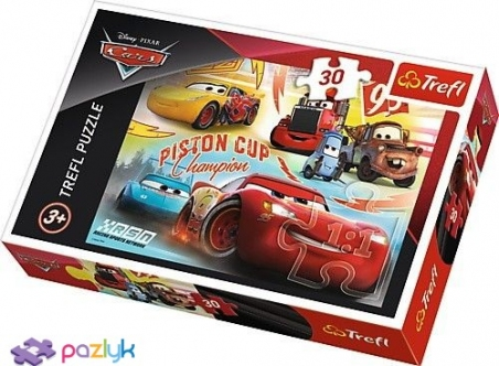 30 ел. - Тачки-3. Команда чемпіонів / Disney Cars 3 / Trefl