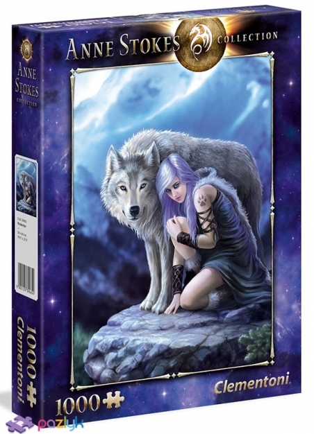1000 ел. Anne Stokes collection - Захисник / Clementoni