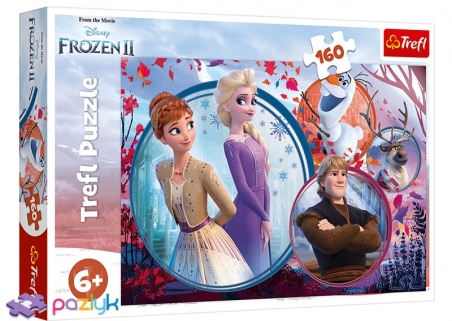 160 ел. - Крижане серце-2. Пригоди сестер / Disney Frozen 2 / Trefl