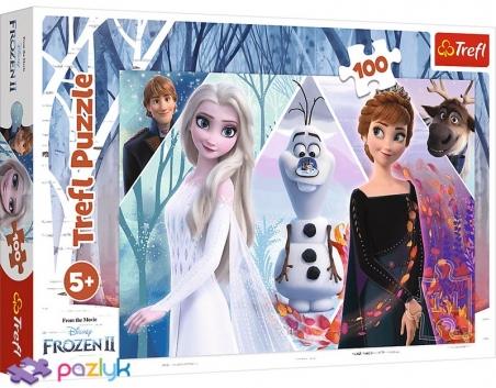 100 эл. - Холодное сердце-2. Заколдованная земля / Disney Frozen 2 / Trefl