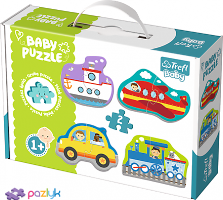 Baby CLASSIC - Пасажирський транспорт /Trefl