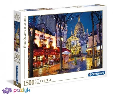 1500 эл. High Quality Collection - Париж, Монмартр / Clementoni
