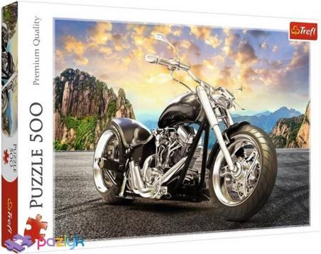 500 ел. - Чорний мотоцикл / Trefl