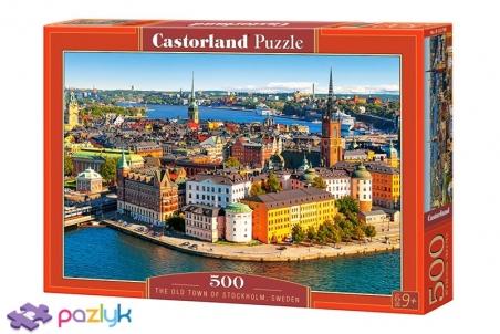 500 ел. - Старе місто, Стокгольм, Швеція / Castorland