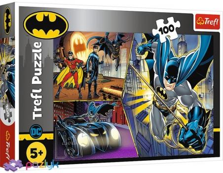 100 ел. - Безстрашний Бетмен / Warner Batman / Trefl