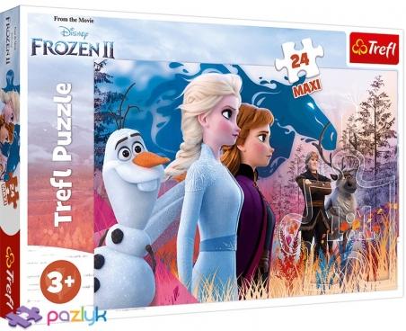 24 эл. Макси - Холодное сердце-2. Волшебное путешествие / Disney Frozen 2 / Trefl