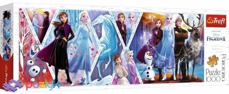 1000 ел. Panorama - Крижане серце-2 / Disney Frozen 2 / Trefl