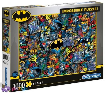 1000 эл. Impossible - Бэтмен / Clementoni