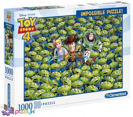 1000 эл. Impossible - История игрушек-4 / Clementoni