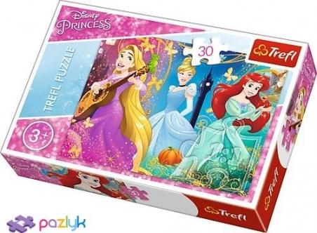 30 ел. - Зачарована мелодія / Disney Princess / Trefl